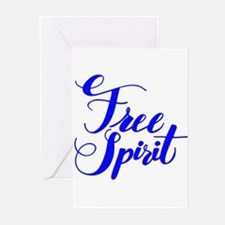 FREE SPIRIT Greeting Cards