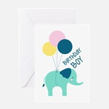 Birthday Boy Greeting Cards