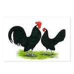 Black Dutch Pair Postcards (Package of 8)