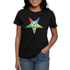 OES Recycling Women's Dark T-Shirt