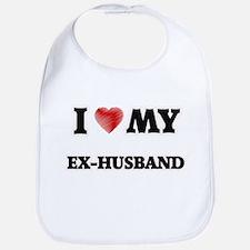 I Love My Ex-Husband Bib