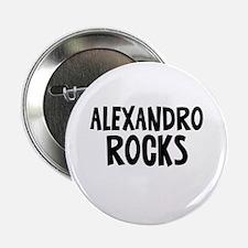 """Alexandro Rocks 2.25"""" Button"""