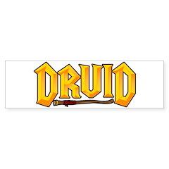 Druid @ eShirtLabs.Com Bumper Bumper Sticker