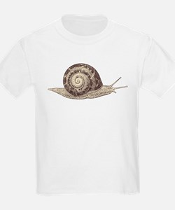 Hand painted animal snail T-Shirt