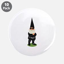 """Biker Gnome 3.5"""" Button (10 pack)"""