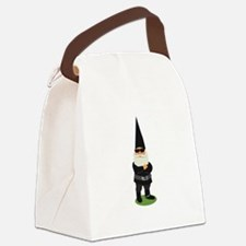 Biker Gnome Canvas Lunch Bag