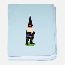 Biker Gnome baby blanket