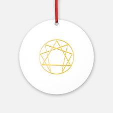 Gurdjieffs Anneagram Round Ornament