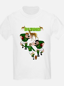 Springboks Rugby Team T-Shirt