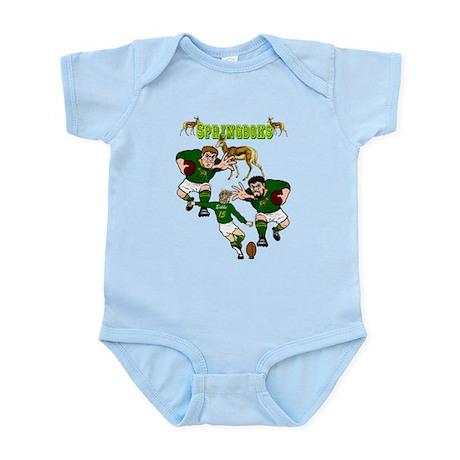 Springboks Rugby Team Infant Bodysuit
