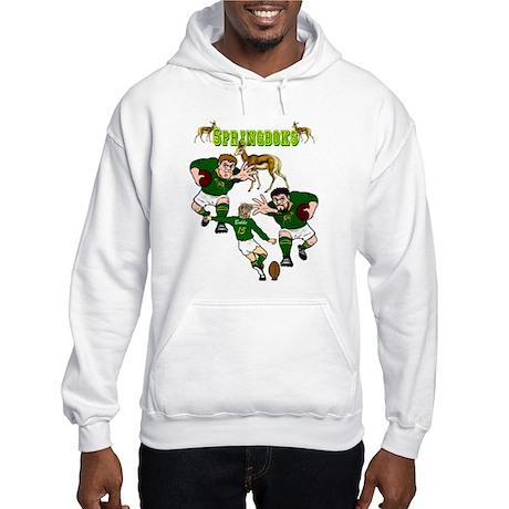 Springboks Rugby Team Hooded Sweatshirt