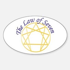 Law of Seven Decal