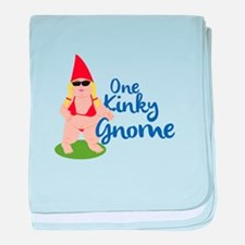 Kinky Gnome baby blanket