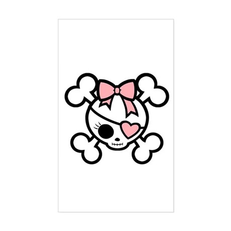 Molly Bow IV Rectangle Sticker