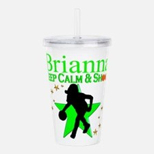 GO BASKETBALL Acrylic Double-wall Tumbler