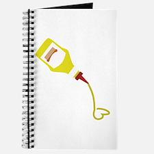 Mustard Bottle Journal
