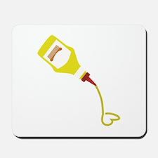 Mustard Bottle Mousepad