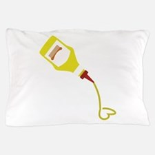 Mustard Bottle Pillow Case