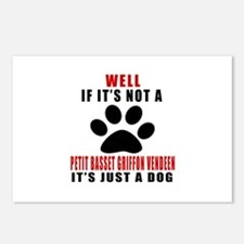 If It Is Not Petit Basset Postcards (Package of 8)