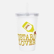Mustard Lover Acrylic Double-wall Tumbler