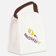 Mustard! Canvas Lunch Bag