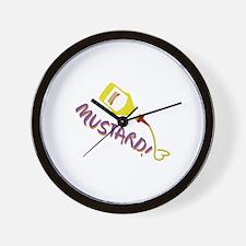 Mustard! Wall Clock