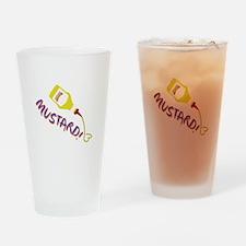 Mustard! Drinking Glass