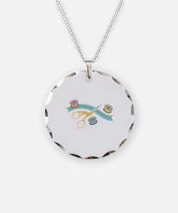 Sewing Notions Necklace
