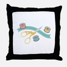 Sewing Notions Throw Pillow