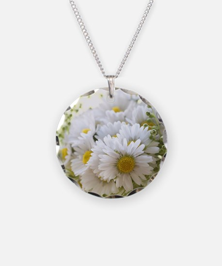 Bouquet of daisies in LOVE Necklace