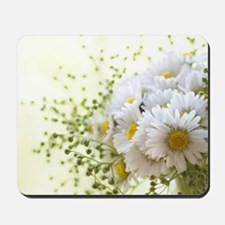 Bouquet of daisies in LOVE Mousepad