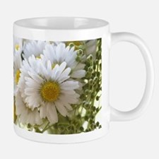 Bouquet of daisies in LOVE Mugs