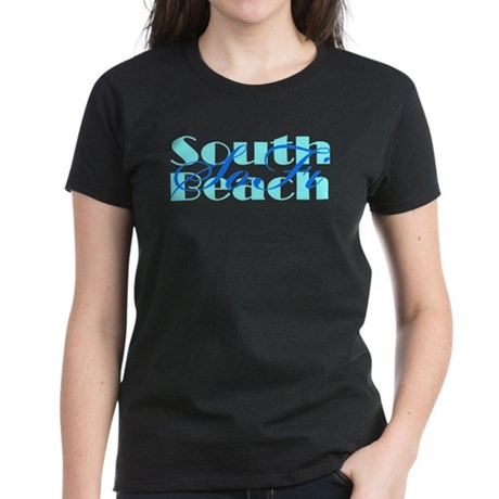 Women's South Beach SoFi Black T-Shirt