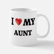 I Love My Aunt Mugs