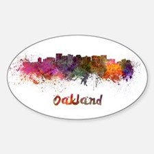 I Love Oakland Decal