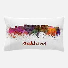 I Love Oakland Pillow Case
