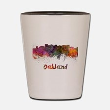 I Love Oakland Shot Glass