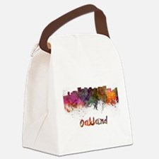 I Love Oakland Canvas Lunch Bag