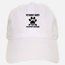 My Heart Beats For Colorpoint Shorthair Cat Baseball Baseball Cap
