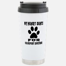 My Heart Beats For Colo Travel Mug