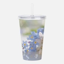 Lady and court Acrylic Double-wall Tumbler