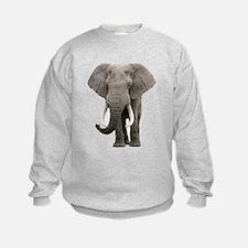 Realistic elephant design Sweatshirt