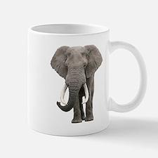 Realistic elephant design Mugs