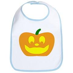 Happy Pumpkin Halloween Bib