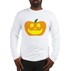 Happy Pumpkin Halloween Long Sleeve T-Shirt