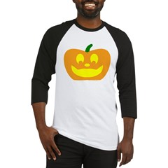 Happy Pumpkin Halloween Baseball Jersey