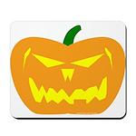 Scary Pumpkin Halloween Mousepad