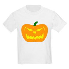Scary Pumpkin Halloween T-Shirt