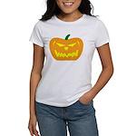 Scary Pumpkin Halloween Women's T-Shirt