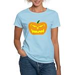 Scary Pumpkin Halloween Women's Light T-Shirt